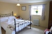 Double room, views towards Benenden Church